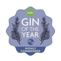 CRAFDI Gin of the Year 2016