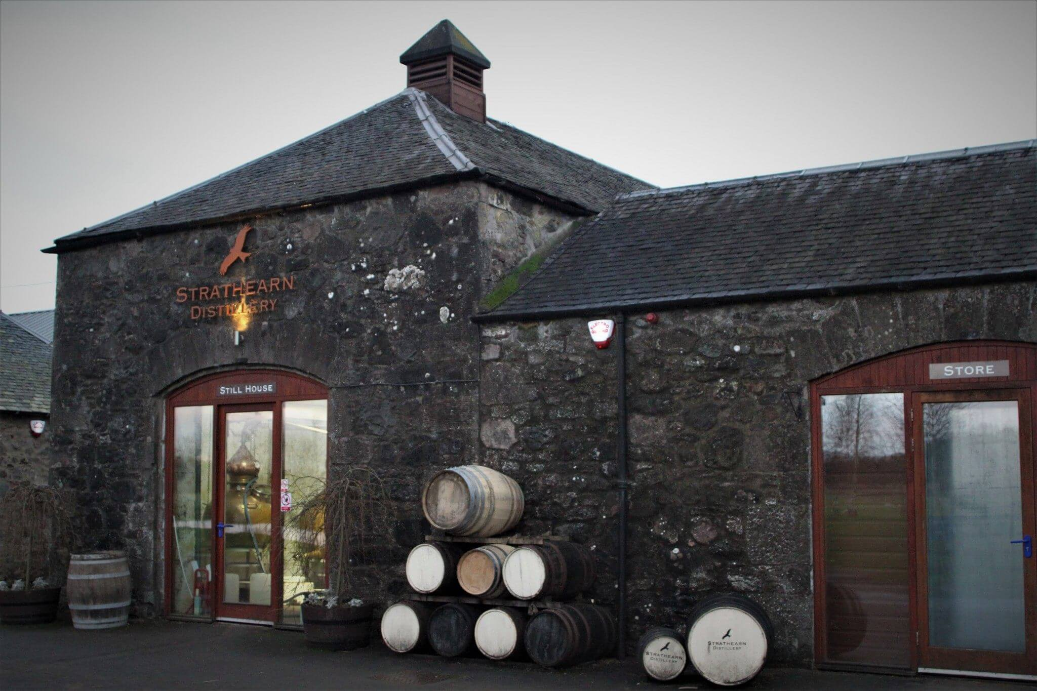 Early morning Strathearn Distillery