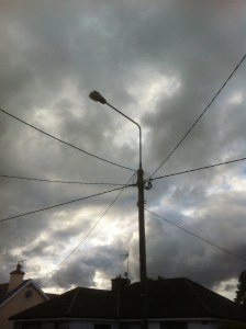 Fully functioning street lights are rare in Cappoquin.
