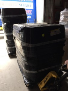 Casks ready for action