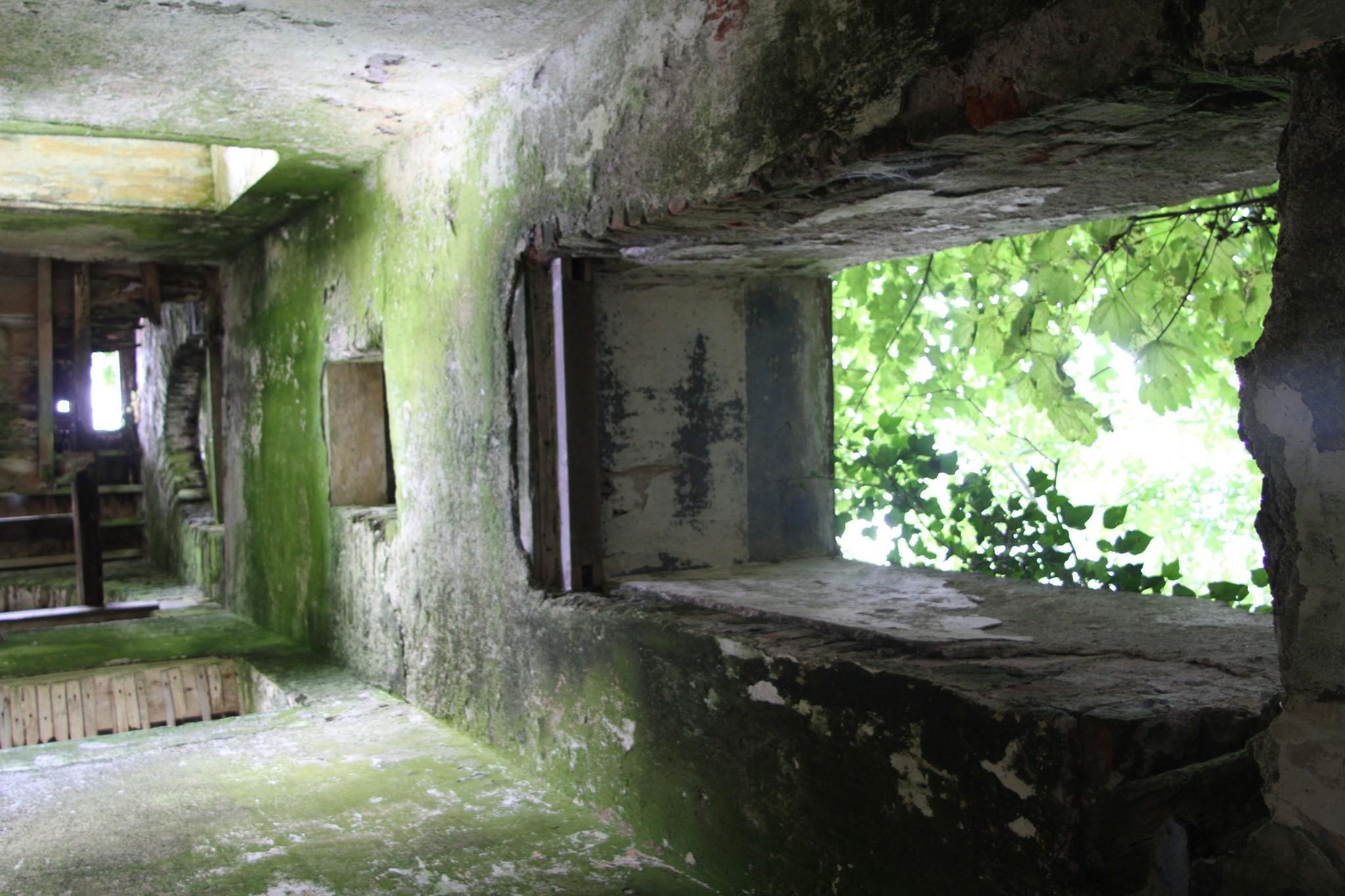 An abandoned Church bell tower
